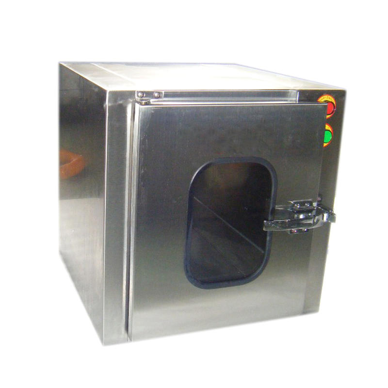 interlocking Stainless Steel cleanroom Pass Box for hospital