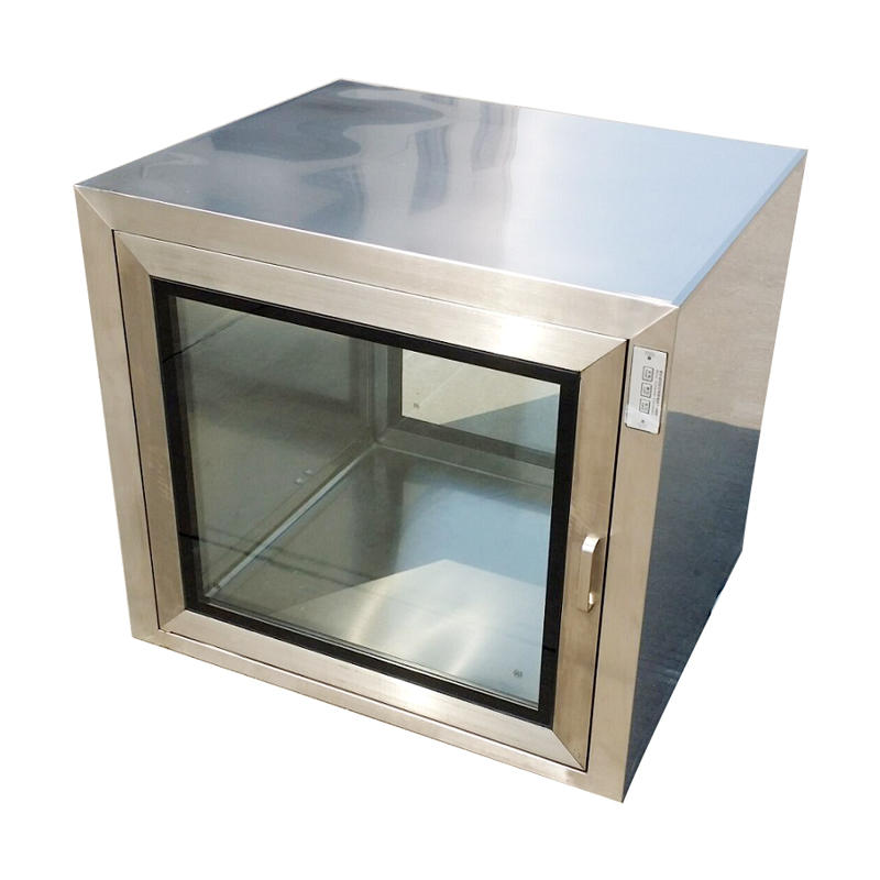 Mechanical interlocking  static cleanroom pass box