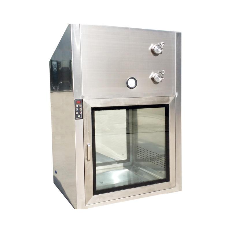 microcomputer  interlocking  control dynamic pass box with laminar air flow