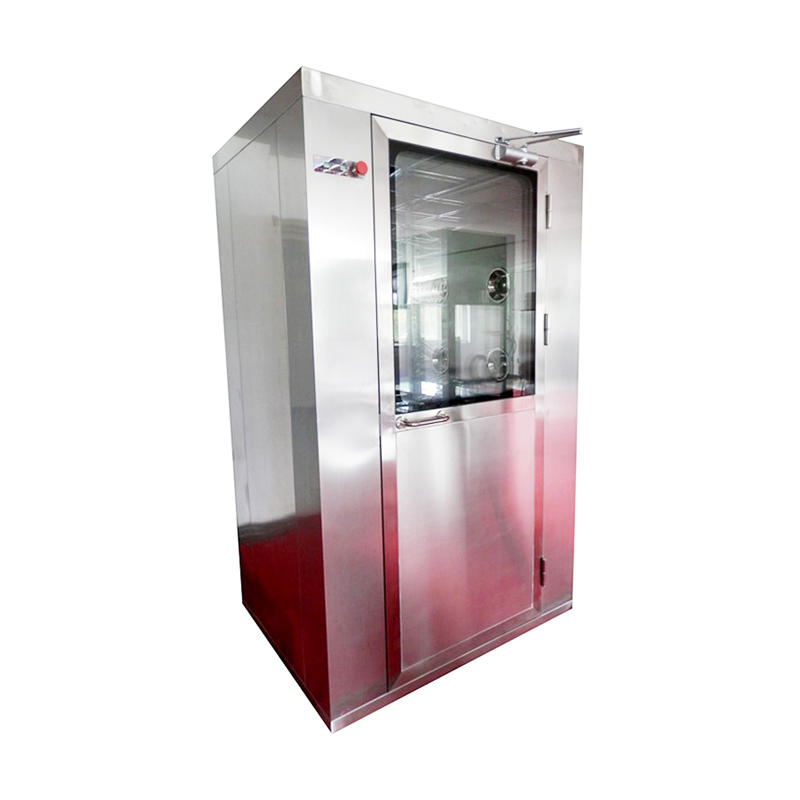 cleanroom vertical Intelligence air shower room with top side air flow