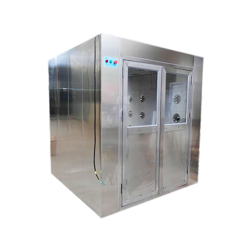Three way blowing SUS automatic cargo air shower for forklift