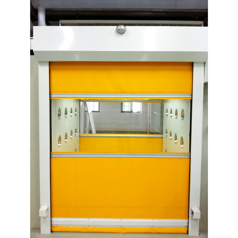 Automatic  Fast-Rolling Door Air Shower For Pallet Cargo