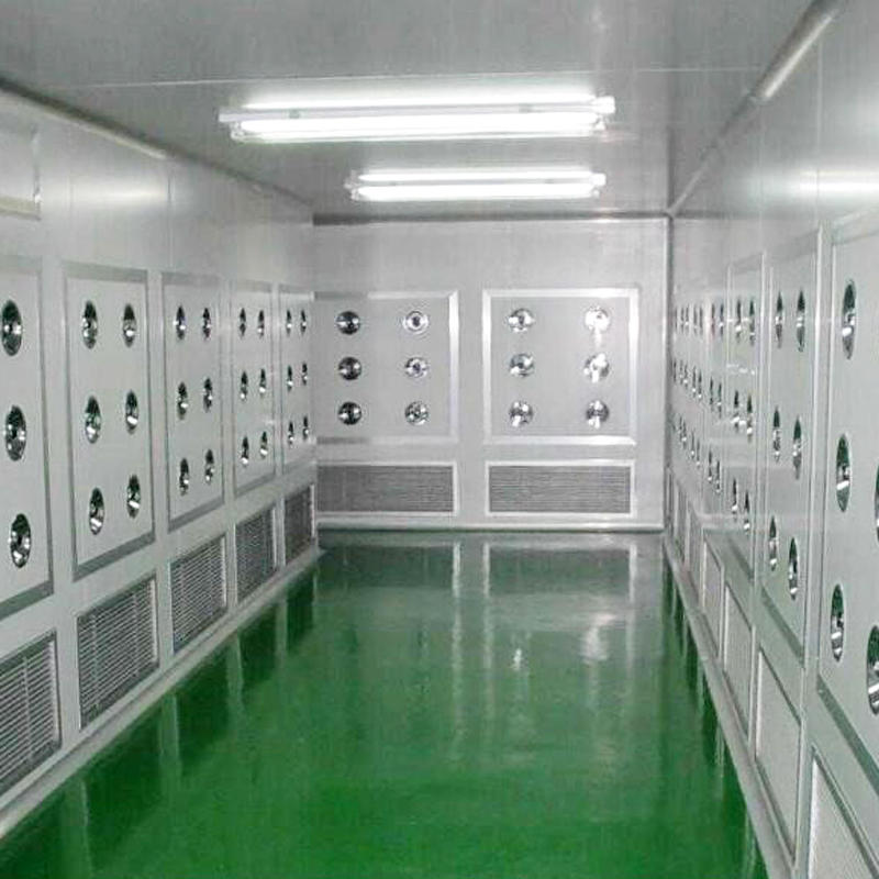 PLC control system Air Shower Tunnel for Large scale semiconductor factory