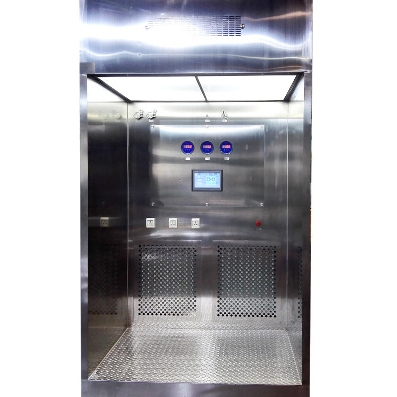 negative pressure down flow booth for pharmaceutical factory