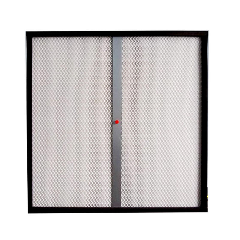 H14 HEPA Air Filter With DOP Port
