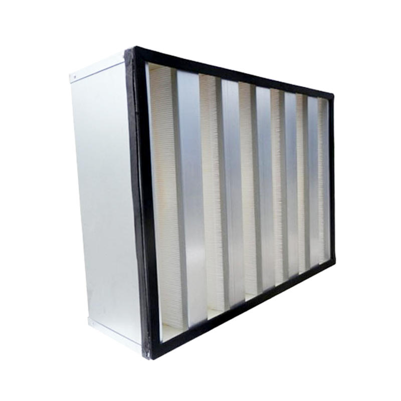 V Bank HEPA Air Filter With Big Air Volume