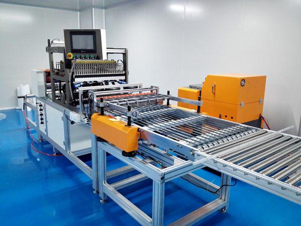 Glass Fibre mini-pleats machine for Hepa air filter