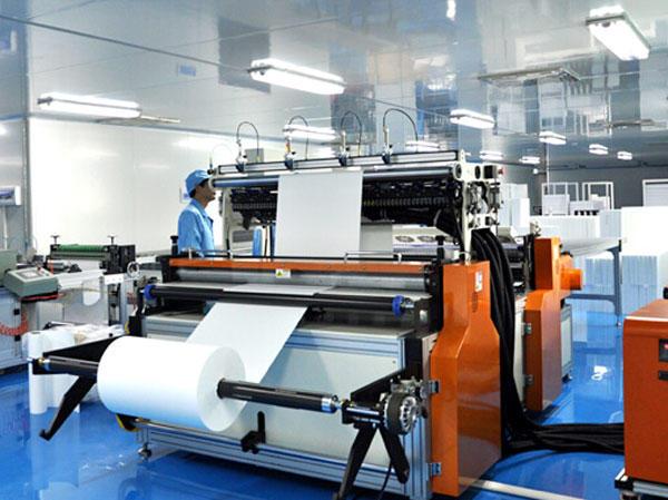 1500mm Width High Efficiency  Mini-pleats Machine  Workshop