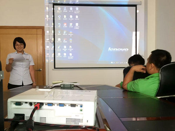 New Product knowledge training for all of  haoairtech staff