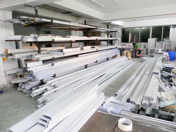 Air Filter Aluminum warehouse