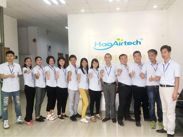 Haoairtech Company Sales Team Staff