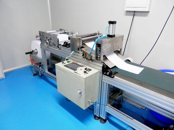 Clapboard Folding machine for HEPA Deep Pleats Machine