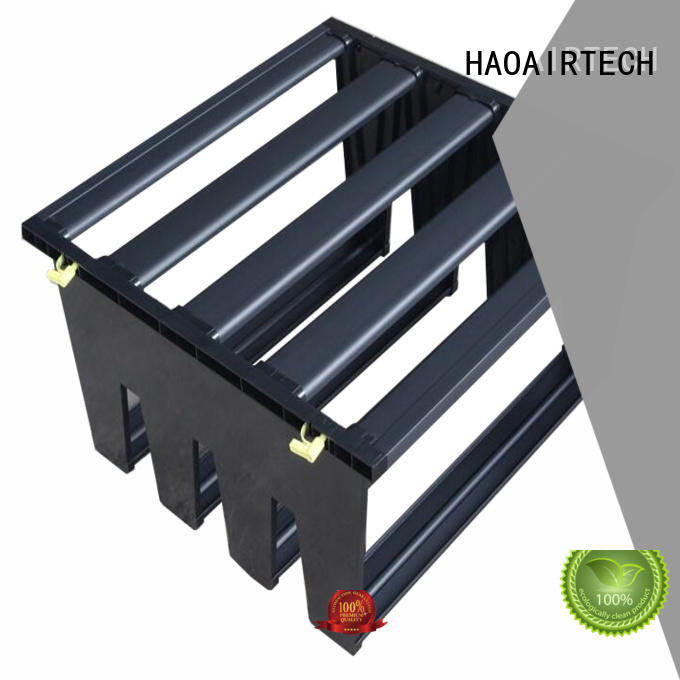 HAOAIRTECH Air filter media manufacturer for the v type hepa air filter