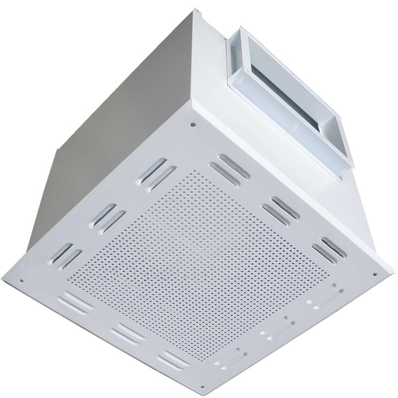 DOP HEPA Filter Terminal Box For Clean Room Ceiling