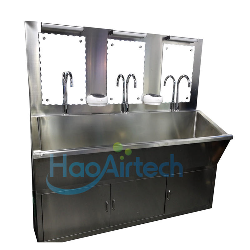 Hospital scrub sink with stainless steel 304