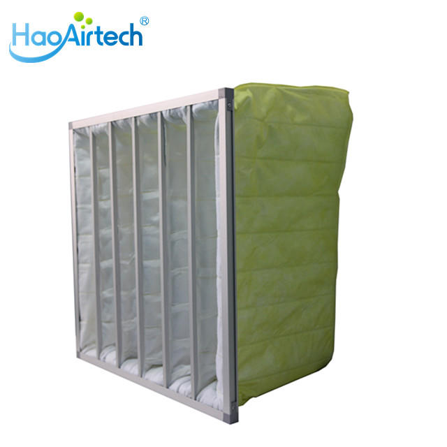 Synthetic Fiber Secondary Bag Air Filter with Multi Pocket