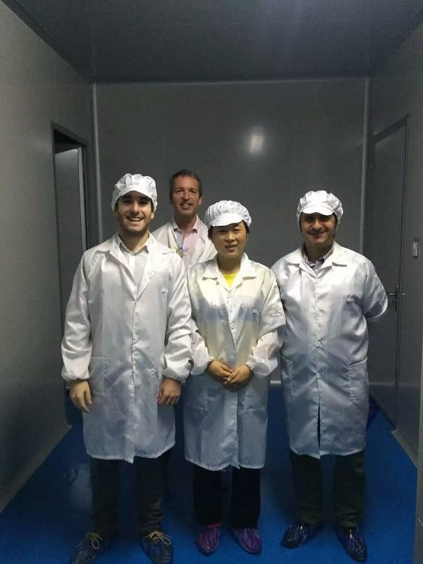 Chile Client Visits Haoairtech HEPA Air Filter Workshop