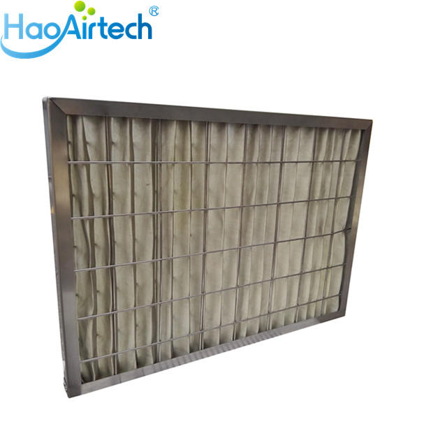 300 Degree High Temperature Pleat Prefilter For Spraying Plant