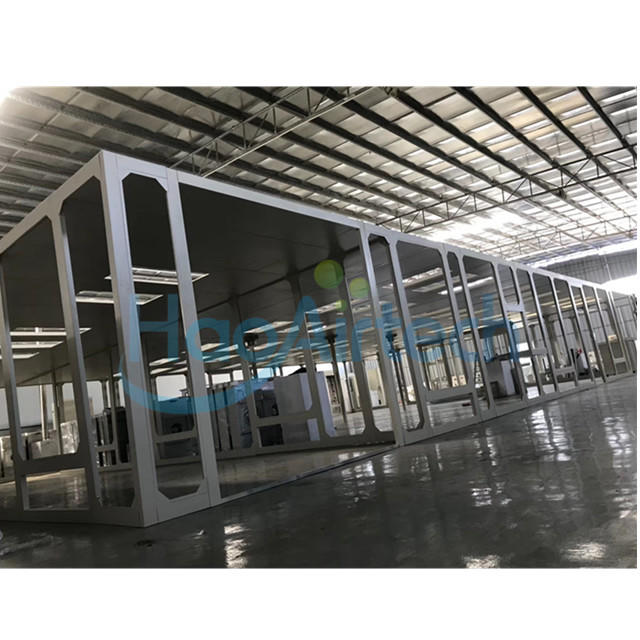 Big Size Modular Cleanroom For Electronics Factory