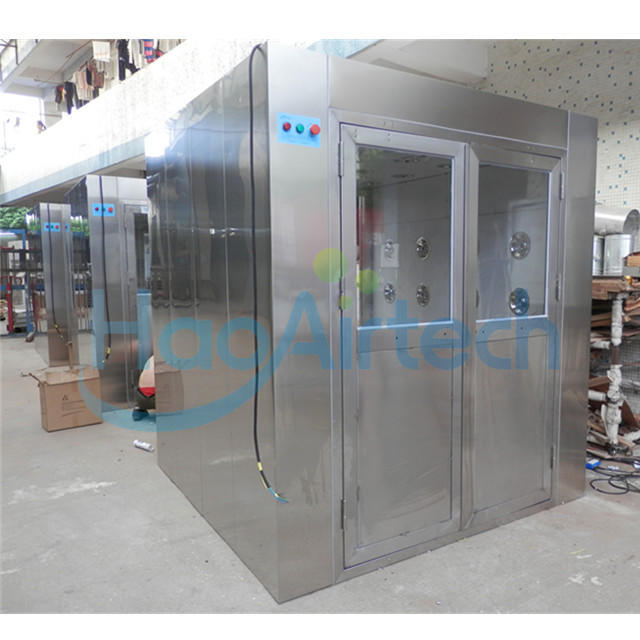 Stainless Steel Clean Room Air Shower With Double Door
