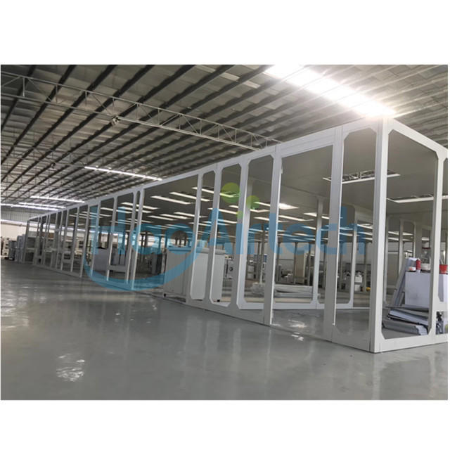 Class 1000 Purification Modular Cleanroom For Electronics Factory