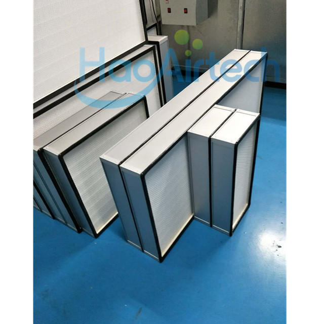 H14 Hepa Filter With PU Foam Gasket