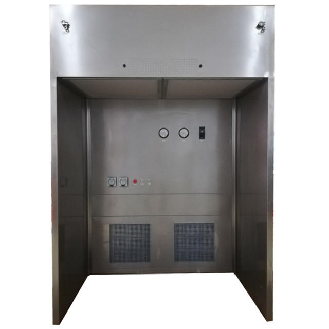 Stainless Steel 316 Down Flow Containment Booth For Pharmacon