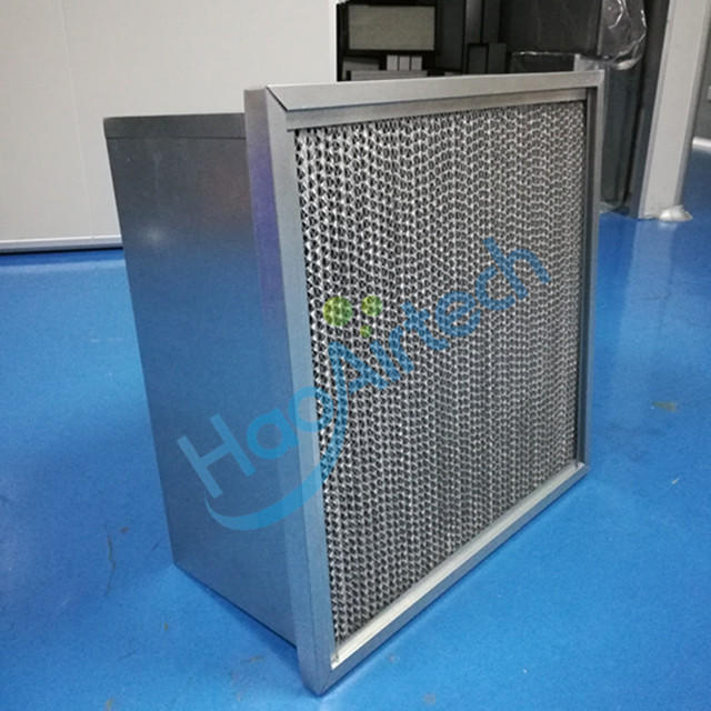 F8/F9 Gas Turbine Air Filter With  Galvanized Interlock