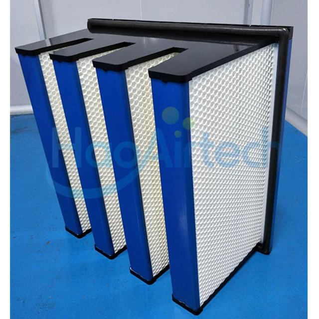 F8/ F7 Donaldson Type Compact Air Filter With Eurpean  4V frame