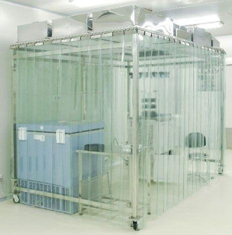 Class100 Capsule Softwall Cleanroom with Antistatic Vinyl Curtain