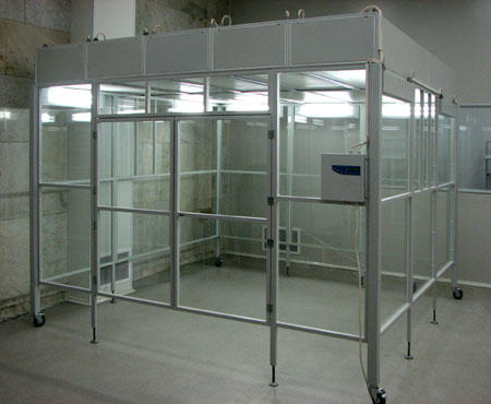 Portable Clean room vertical laminar flow booth with FFU