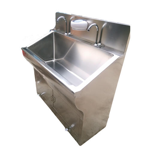 medical surgical scrub hand washing sink for hospital operating room
