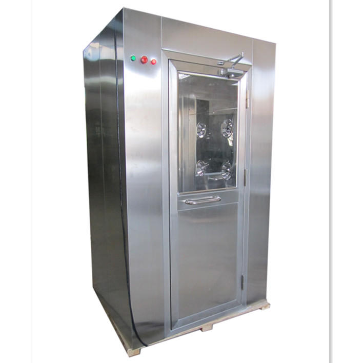 SS304/316 Three Side Blowing Air Shower For Pharmaceutical Cleanroom