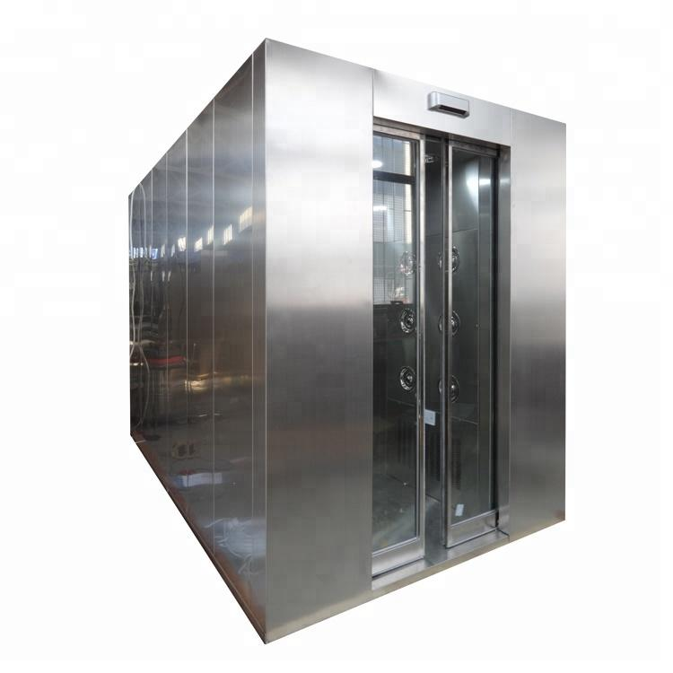 Cleanroom Cargo Air Shower With Automatic Shutter Door