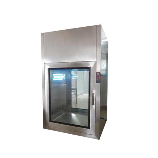 Automatic Blowing Stainless Steel Air Shower Pass Through Box For Cleanroom