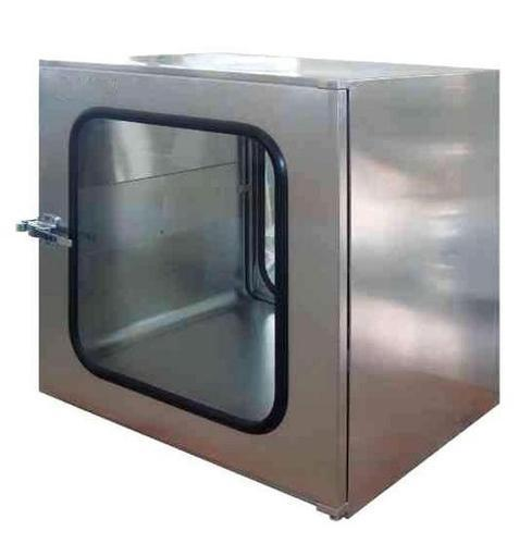 SS304/ Coldrolled Steel with Baked Painting Cleanroom Pass Boxes