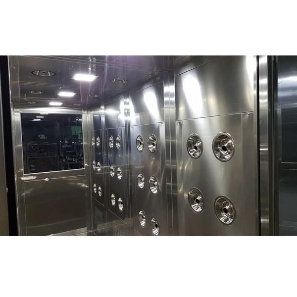 Intelligent Air Shower Channel In Clean Room , Wind Spreed 25-30m/S