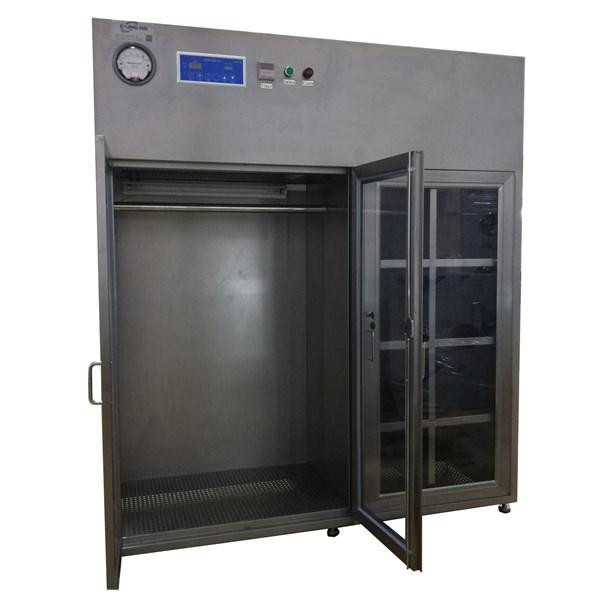 Stainless Steel Clean Room Equiptments Vertical Laminar Flow Cleanroom Garment Cabinet