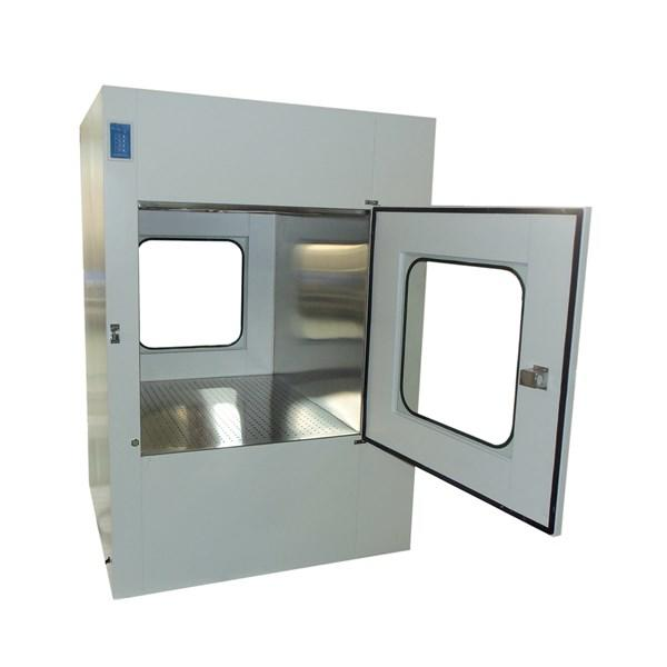 750W Air Shower Pass Box Embedded Lamps With Arc Design GMP Standard