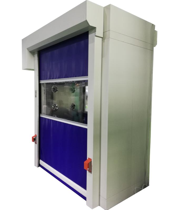 PVC Fast Rolling Door Air Shower