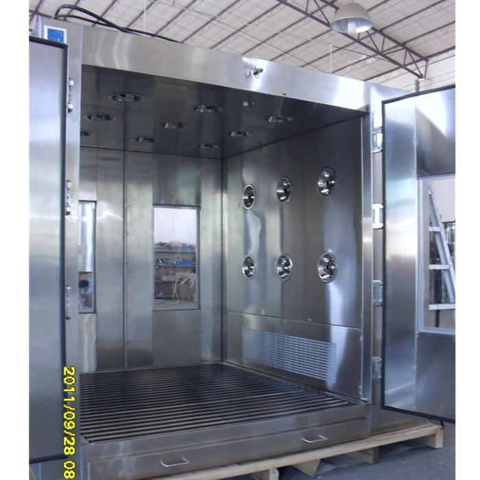 Roller Air Shower Pass Boxes