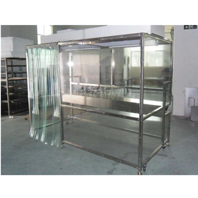 SUS 304 Frame Softwall Clean Room