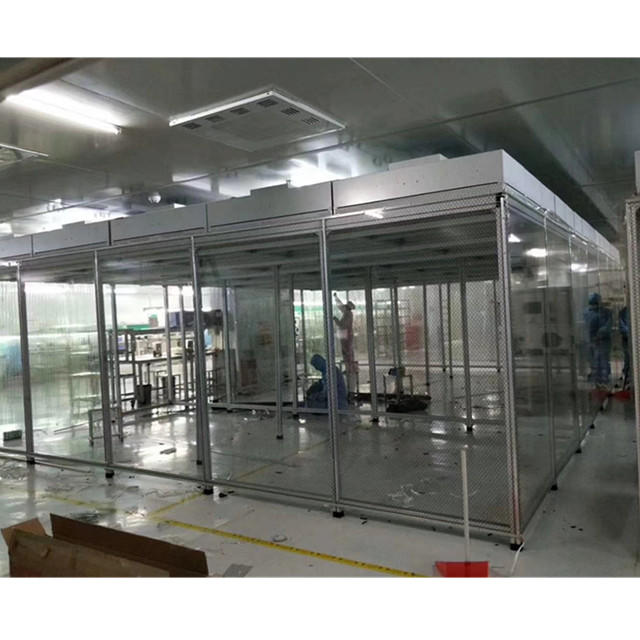 Biology Laboratory Softwall Cleanroom