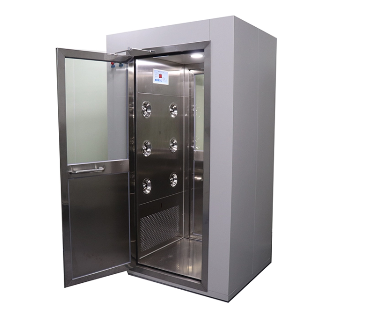 Single-person Double-blowing Air Shower Room
