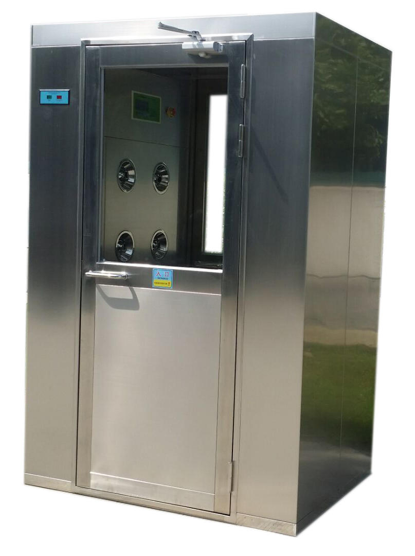 Cleanroom Air Shower With Nozzles Air Shower Room