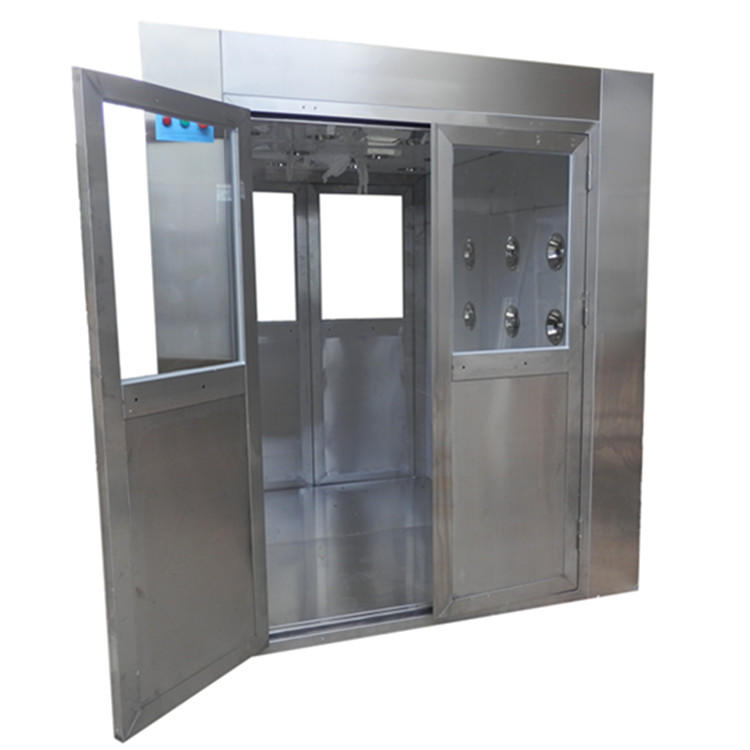 Cleanroom air shower for lab