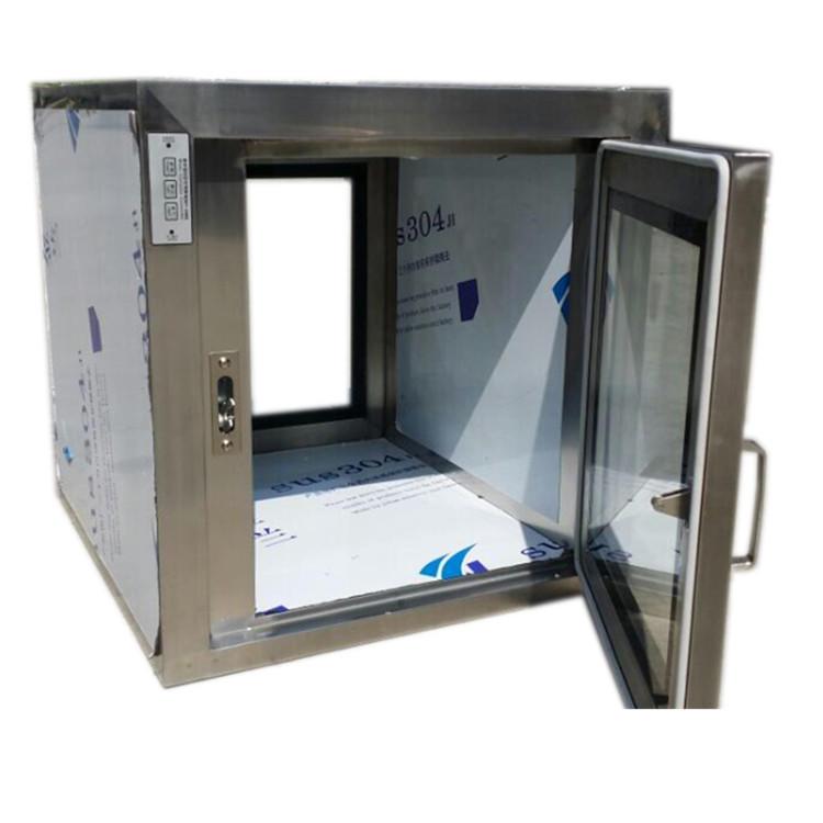 Cleanroom transfer window pass box