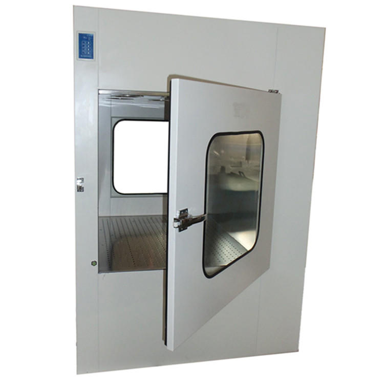Clean Room Equipment Pass Box With Air Shower