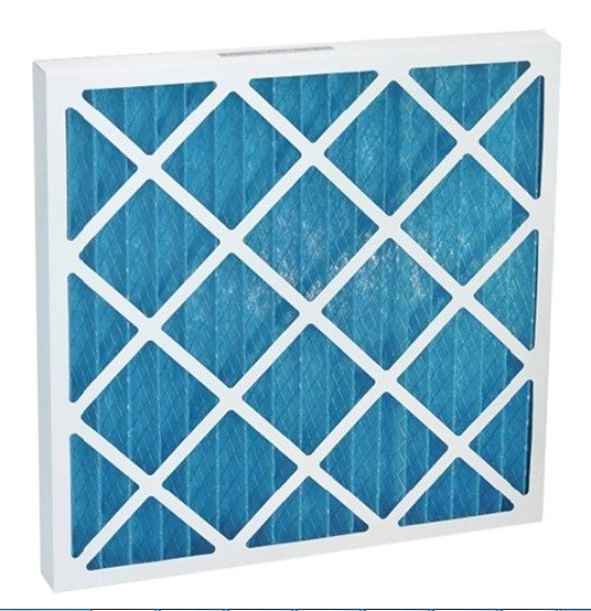 Cardboard frame Deep Pleated filter Disposable Pleat Filter