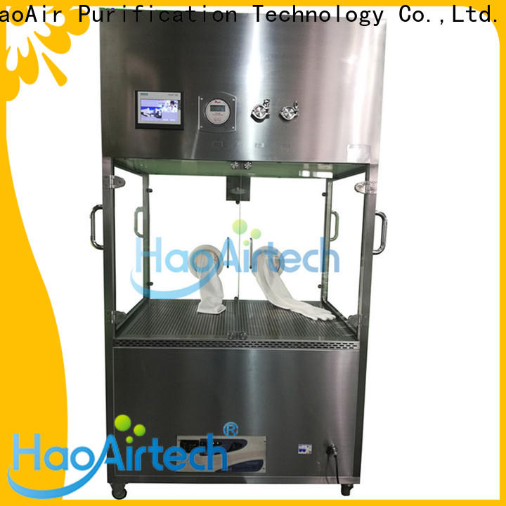 HAOAIRTECH vertical stainless steel utility cart with self contained battery for transporting products